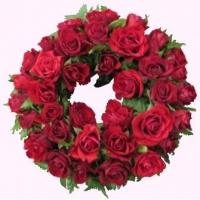 Coronas de rosas