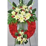 Corona Clásica Doble Roja